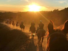Sunset ride at Sunset Ranch Hollywood