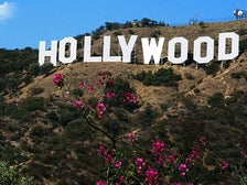 Hollywood Sign viewed from Mulholland Highway