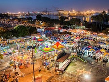 Carnival at the Port of Los Angeles Lobster Festival