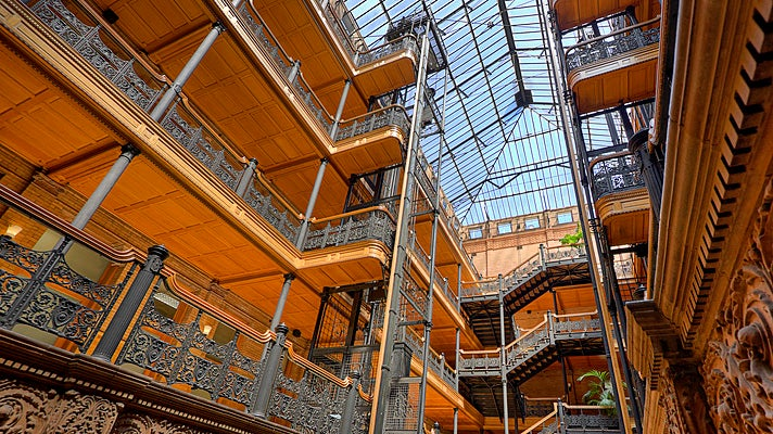 Bradbury Building in Downtown L.A.
