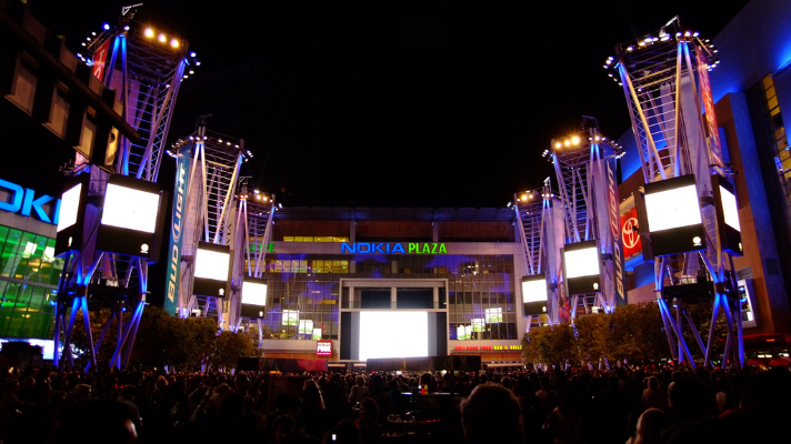 Nokia Plaza at L.A. LIVE