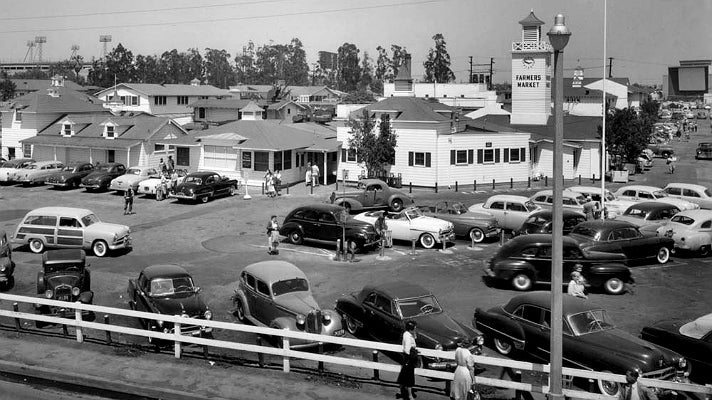The Original Farmers Market in 1953