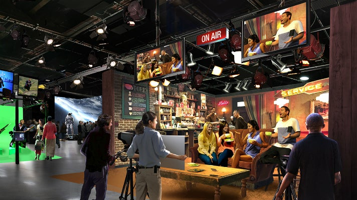 Stage 48: Script to Screen at Warner Bros. Studio Tour Hollywood