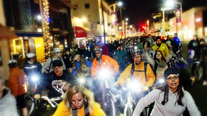 Los Angeles Critical Mass