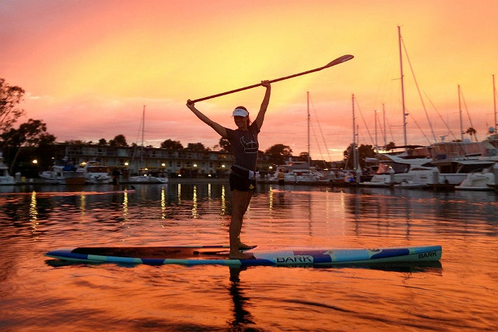 Pro SUP Shop at sunset