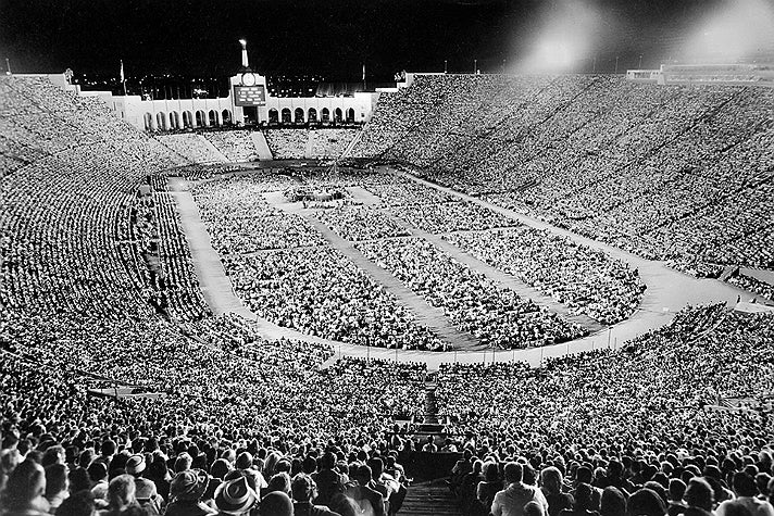 Billy Graham Crusade (Sept. 8, 1963) at the L.A. Coliseum