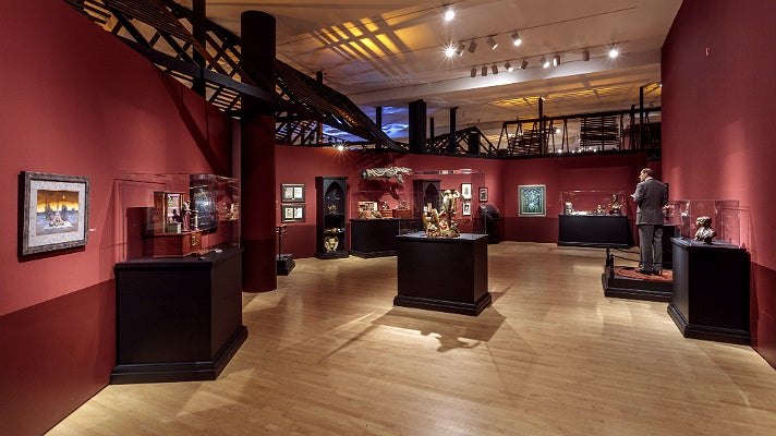 """""""Magic, Alchemy, and the Occult"""" at """"Guillermo del Toro: At Home with Monsters,"""" LACMA"""