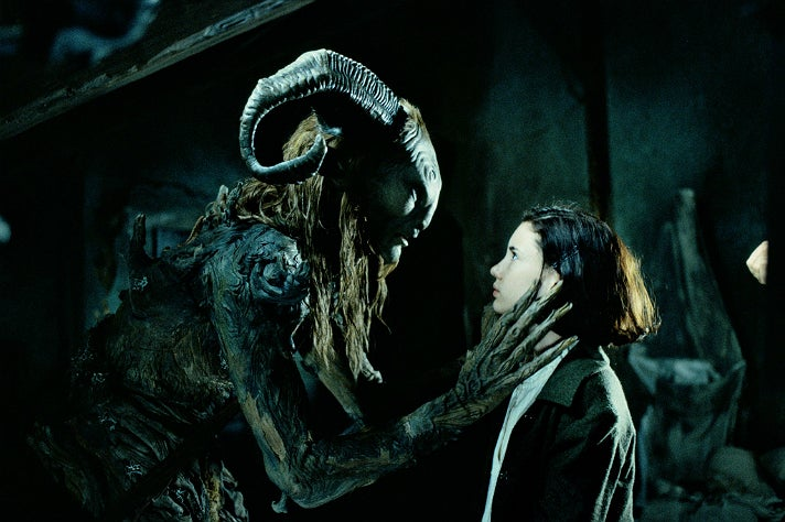 """The Faun and Ofelia in """"Pan's Labyrinth"""""""