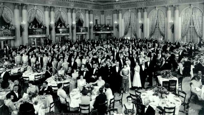 Opening gala at the Millennium Biltmore (1923)