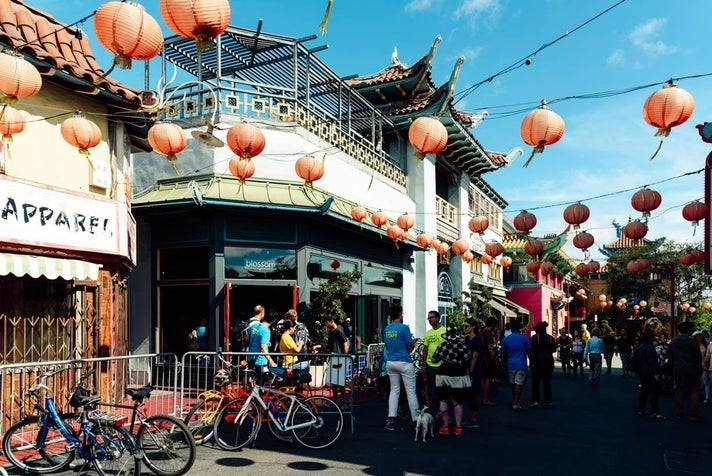 Chinatown Hub at CicLAvia: Heart of L.A.