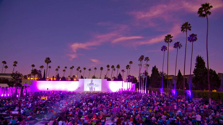 """Purple Rain"" at Cinespia"