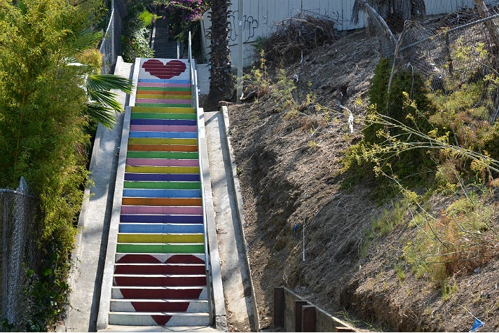 Micheltorena Stairs in Silver Lake