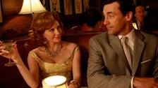 """Don and Bobbie at Sardi's from """"Mad Men"""" Season Two"""
