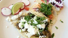 Tacos at Homegirl Cafe