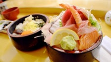 Chirashi bowl at Sushi Go 55