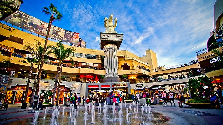Hollywood & Highland shopping center
