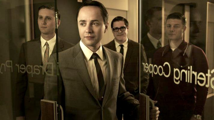 """Ken, Pete, Harry and Stan from """"Mad Men"""" Season 5"""
