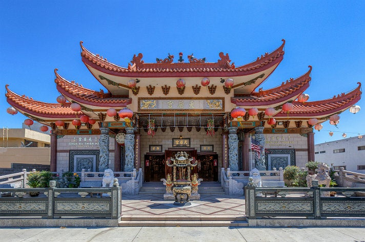 Thien Hau Temple in Chinatown
