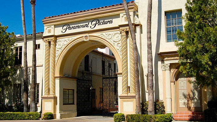 Bronson Gate at Paramount Pictures