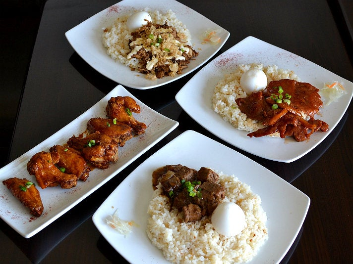 Filipino dishes at Silog in Torrance