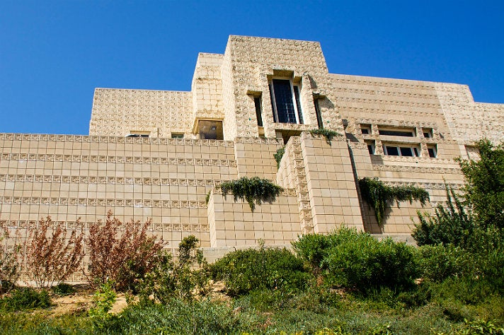 Ennis House in Los Feliz