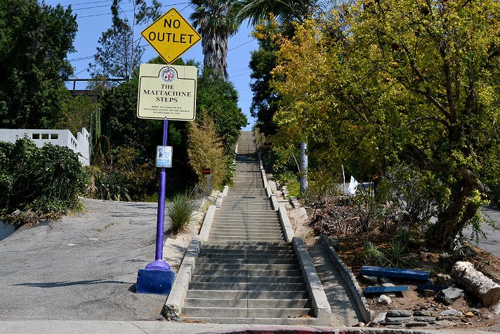 The Mattachine Steps in Silver Lake