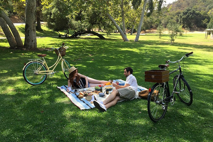 Picnic near Crystal Springs Drive in Griffith Park
