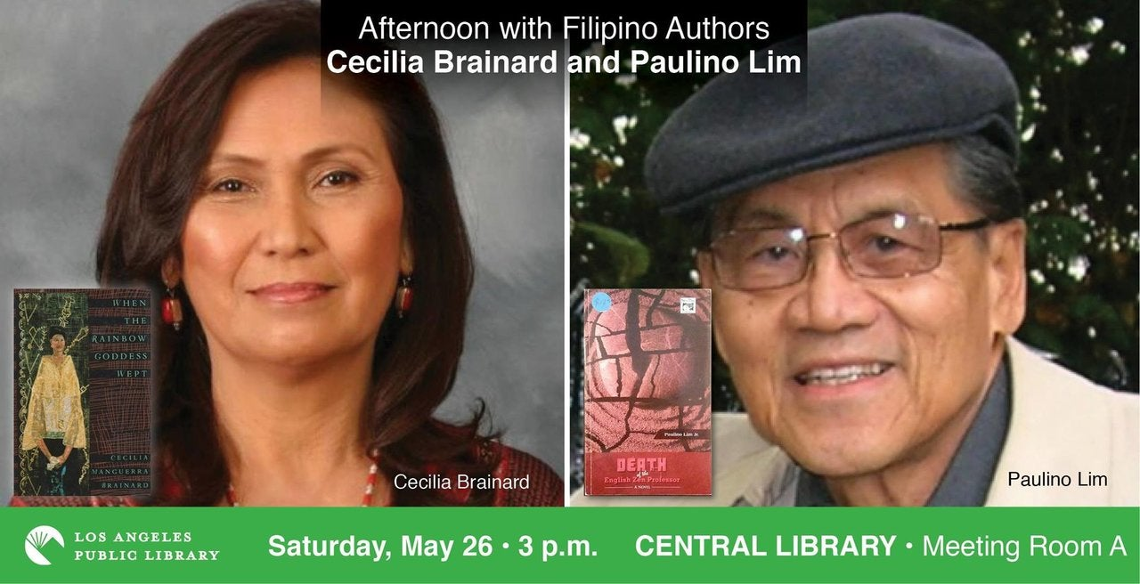 Afternoon with Filipino Authors at the Central Library
