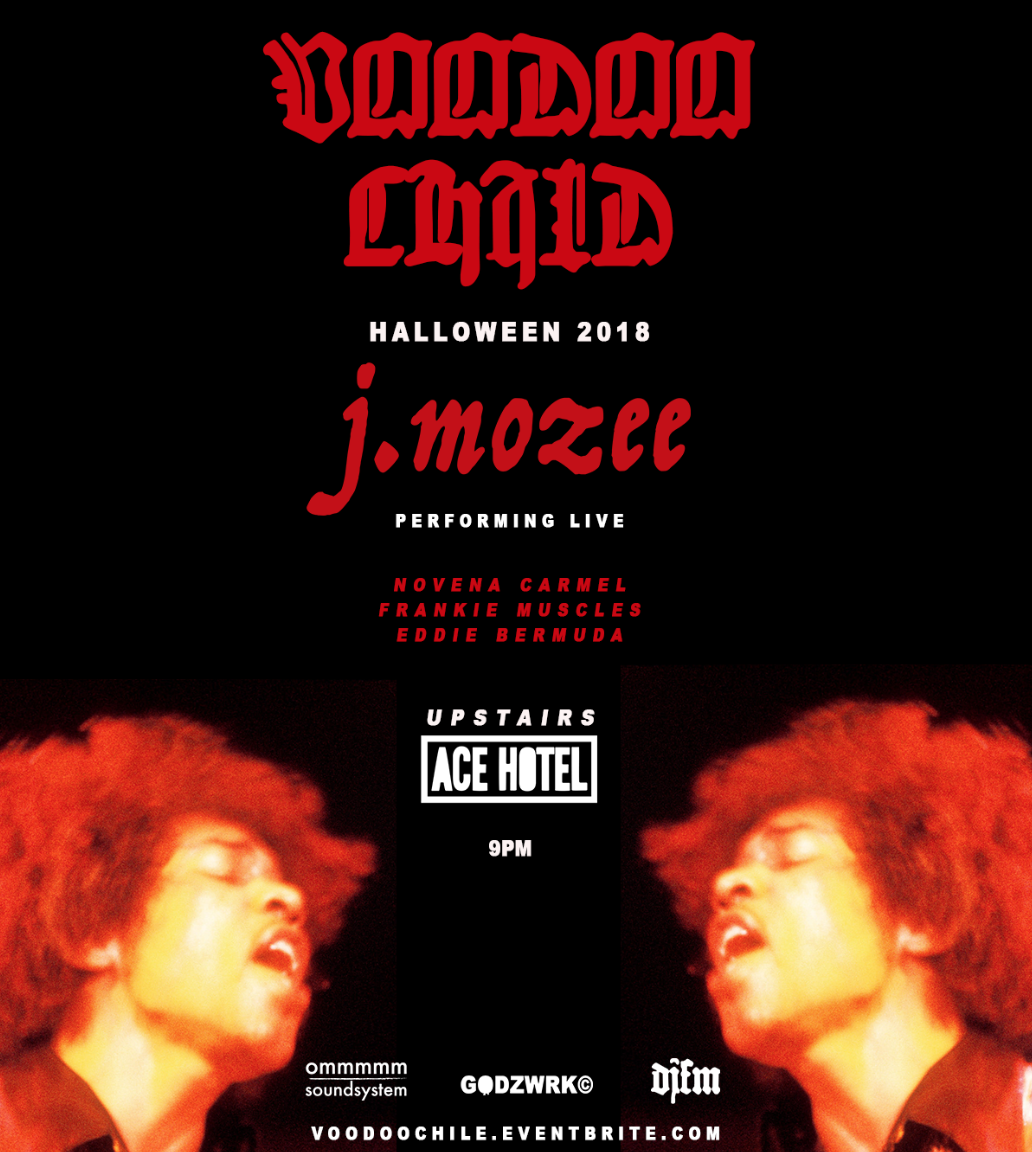Voodoo Child at Upstairs at the Ace Hotel in DTLA