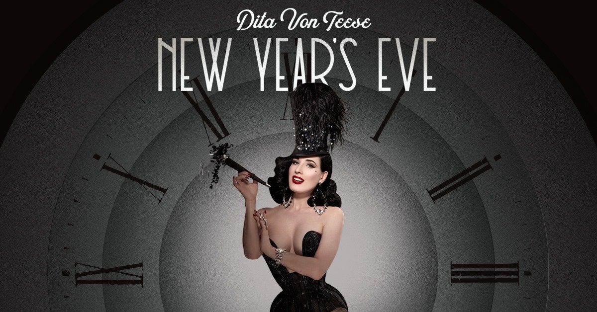 Dita Von Teese New Year's Eve Gala at The Orpheum